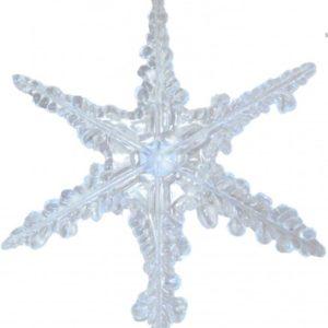 Schneeflocke-Acryl