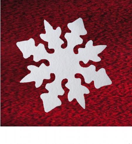 Filz Schwer Entflammbar nostalgiesterne aus schneefilz 29 cm, ca. 2 mm dick, 4er pack