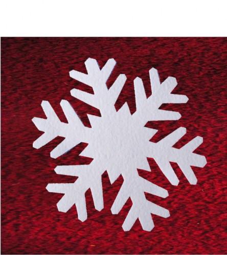 Filz Schwer Entflammbar schneeflocken aus schneefilz 29 cm, ca 2mm dick, 25er pack, schwer